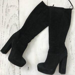 Dolce Vita Knee High Black Boots Size 8